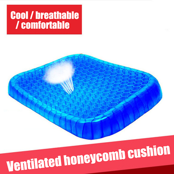 2020 best-selling new gel mat office cool summer breathable ice mat flexible cellular cushion boyfriend gifts 1