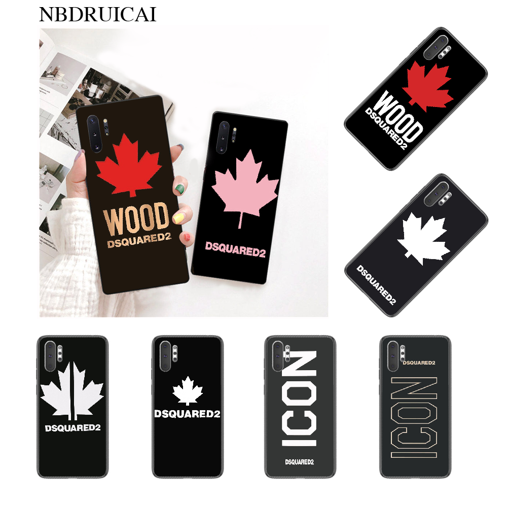 NBDRUICAI Italy luxury brand Soft Silicone TPU Phone Cover for Samsung Note 3 4 5 7 8 9 10 pro M10 20 30