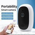 Indoor ip kamera WiFi Pan & Tilt 2 weg audio remote access SD card slot home security kamera K2-in CCTV Monitor & Displays aus Sicherheit und Schutz bei