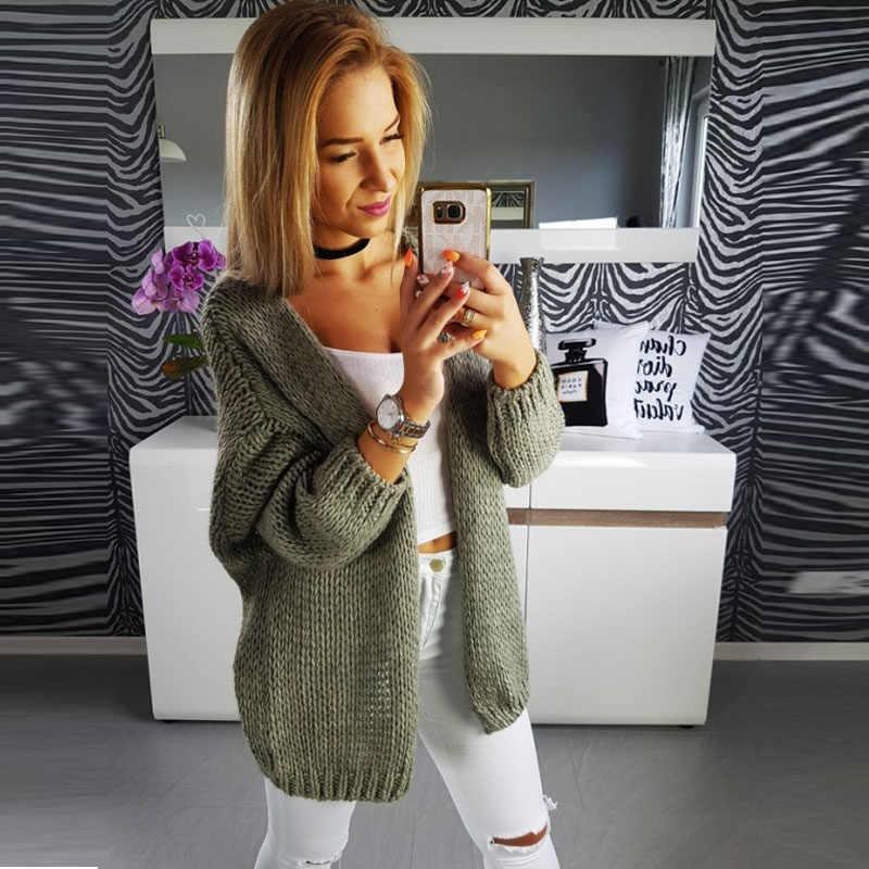 새로운 2020 스웨터 여성 가을 니트 코트 스웨터 솔리드 카디건 탑 스웨터 카디건 니트 코트 캐주얼 긴팔 SW1450