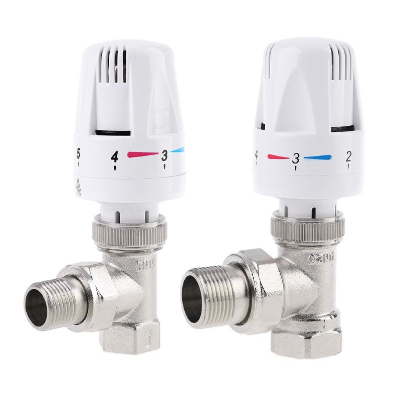 Automatic Thermostatic Radiator Valve Thermostat Temperature Control Valve Floor Heating Thermostat Valve DN15/DN20