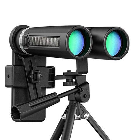 Telescópio para Smartphone Zoom ao ar Poderosa Alta Clareza Prisma hd Livre Caça Óptica Lll Visão Noturna Binocular Fixo 12×42 Bak4