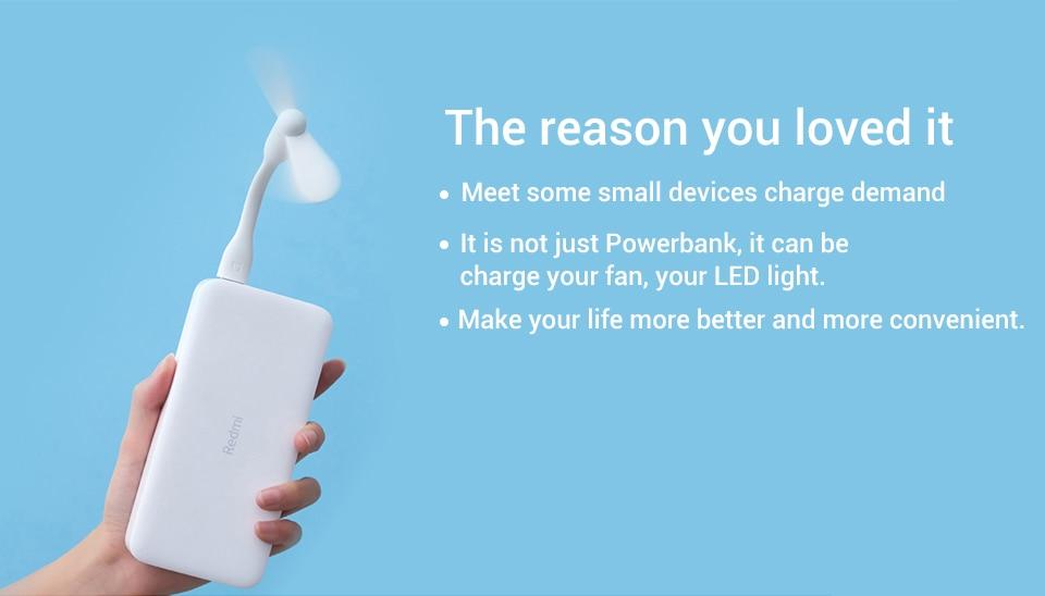 Xiaomi Redmi Power Bank - White Price in Qatar and Doha | hallaSOUQ.qa