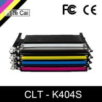 YLC toner cartridge CLT K404S M404S C404S CLT Y404S 404S compatible for Samsung C430W C433W C480 C480FN C480FW C480W printer
