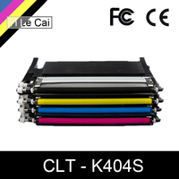 YLC toner cartridge CLT K404S M404S C404S CLT Y404S 404S compatible for Samsung C430W C433W C480 C480FN C480FW C480W printer