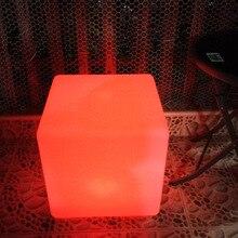 1pc cubic stołek kostki/patio