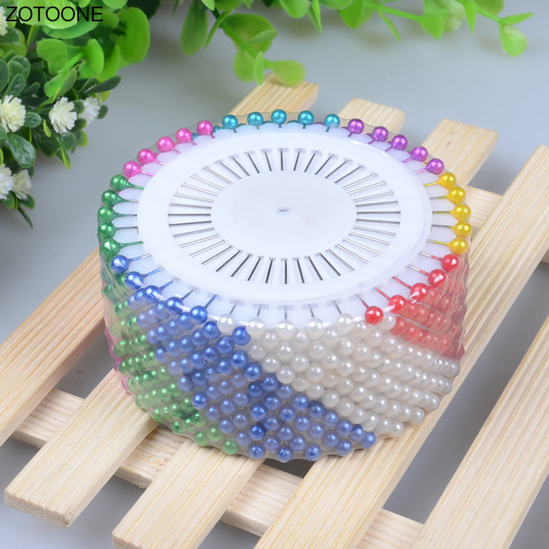 Multicolor Imitation Pearl Jewelry Making Supplies Big Head Needle DIY Hand Made Weaving Positioning Fixed Needles Fitting G