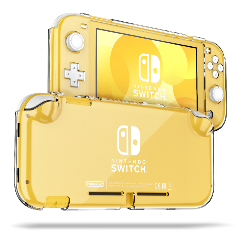 Hard Transparent Case For Nintendo Switch Lite Case Cover 360 Full Protection PC Shockproof Clear Case For Nintendo Switch Lite