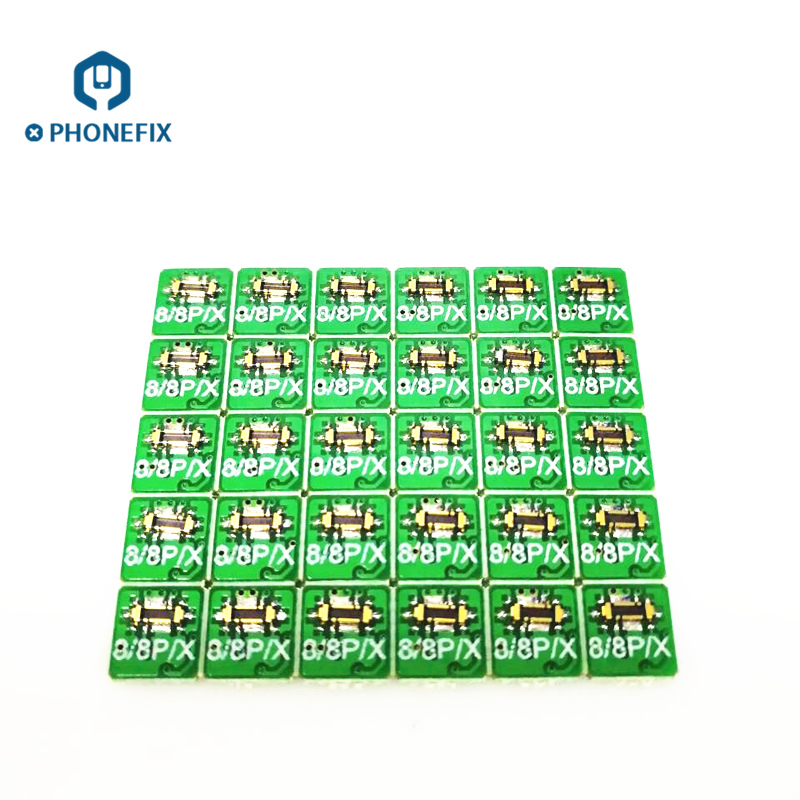 PHONEFIX Motherboard Battery Buckle Mobile Phone Replace Parts For IPhone 6 6S 6P 6SP 7 7P 8 8P X Power Cable Connector