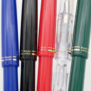 Image 3 - مجموعة أقلام الطيار قلم حبر 78G + الأصلي Lridium قلم هدية صندوق مدرسة الممارسة الخط EF/ F/ M Nib Con40 محول 1 قطعة
