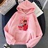 Jibaku Shounen Hanako kun Harajuku Womens Hoodie Fashion Fleece Hoodies Casual Clothes Street Loose Female Sweatshirt 6