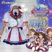 Anime THE iDOLM@STER figure Koga Koharu Tachibana Arisu Murakami Tomoe Cosplay Costume Cinderella Girl 3rd Activity Dress Unifor