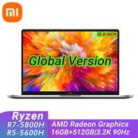 New Xiaomi Mi RedmiBook Pro 15 Laptop AMD Ryzen 7 5800H / Ryzen 5 5600H 16GB DDR4+512GB SSD 3.2K 90Hz Notebook PC Computer 1