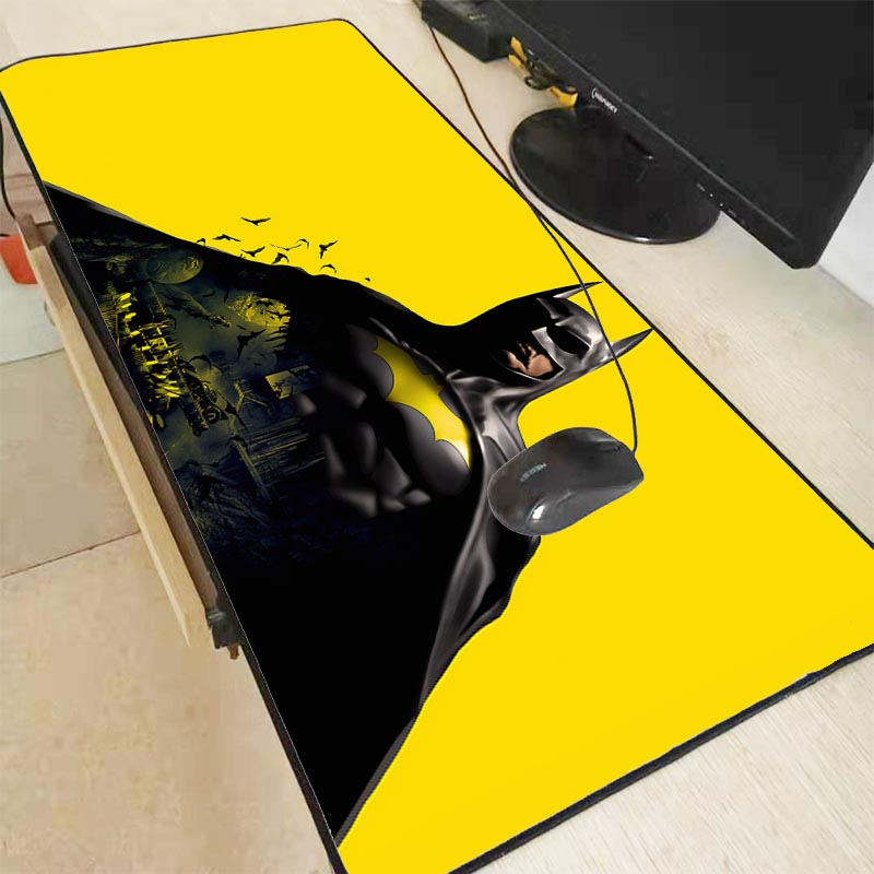 Batman Gaming <font><b>Mouse</b></font> <font><b>Pad</b></font> Computer Mousepad RGB <font><b>Large</b></font> <font><b>Mouse</b></font> <font><b>Pad</b></font> Gamer <font><b>XXL</b></font> <font><b>Mouse</b></font> Carpet Big Mause <font><b>Pad</b></font> PC Desk Play Mat with Backlit image