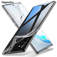Oppselve Ultra-Slim Crystal Case For Samsung Note 8 9 10 Plus Capinhas Transparent TPU Cover S10 S10e