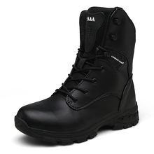 Men Waterproof Tactical Boots Outdoor High Quality Hunting Male High-top Military Botas Senderismo Hombre