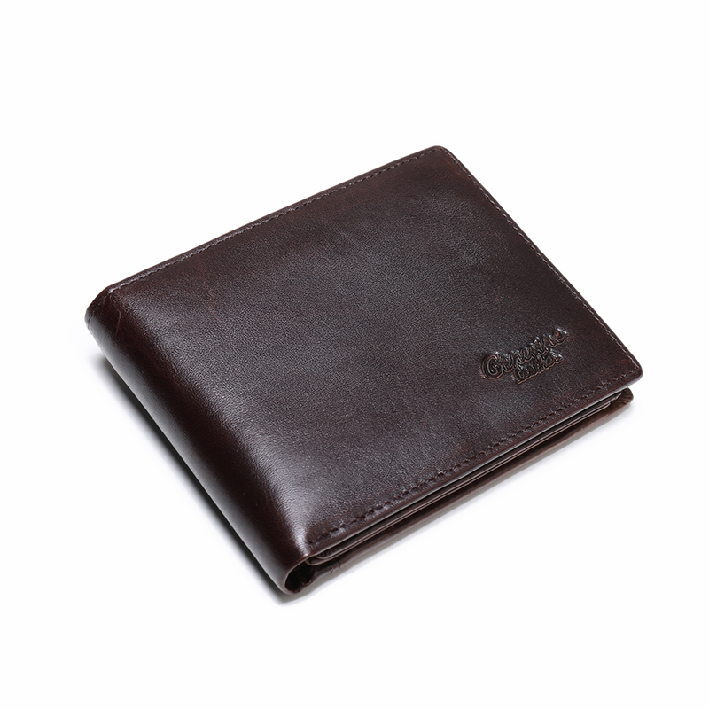 WESTAL Men's Wallet Genuine Leather Purse For Men Credit Card Holder Slim Wallet Short Coin Purse For  Men Vintage Money Bag 886