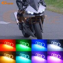 Für Yamaha Yzf R6 03 04 05 R6S 06 07 08 09 RF Remote Bluetooth APP Control Multi Farbe ultra helle RGB LED Angel Eyes kit