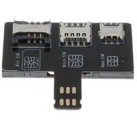 Karty Nano SIM konwerter do kart inteligentnych IC rozszerzenie karty dla standardowych Nano konwerter narzędzie do iPhone'a 5/6/7/ 8/X