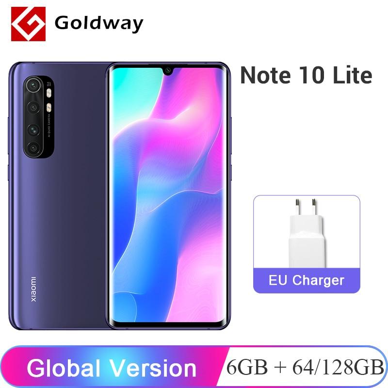 "Global Version Xiaomi Mi Note 10 Lite 6GB 128GB / 64GB 64MP Quad Camera Smartphone Snapdragon730G Octa Core 6.47"" Screen 5260mAh(Hong Kong,China)"