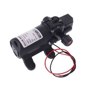 Image 2 - DC 12V 130PSI Micro Waterpomp High Pressure Diaphragm Self Priming Water Pump 70W 6L/Min For Farming Lawn Garden Tour Vehicles