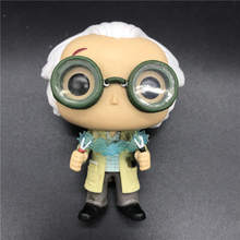 Back To The Future Dr Emmett Brown action figure model toy  Interior decoration gift