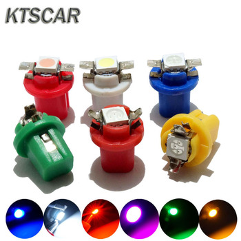 6pcs B8.5 5050 1 Smd T5 Lamp Car Dashboard Warning Indicator Light Bulb 12v Instrument kit For B MW E32 E34 E36 image