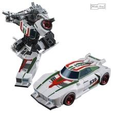 التحول روبوت الحديد مصنع G1 العجلات هيكسوجع KO ألعاب شخصيات الحركة جمع صغير نموذج سيارة تشوه الهدايا