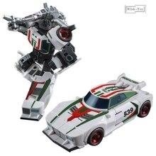 שינוי רובוט ברזל מפעל G1 Wheeljack Hexwrench KO פעולה איור צעצועי מיני אוסף מודל מכונית מתנות