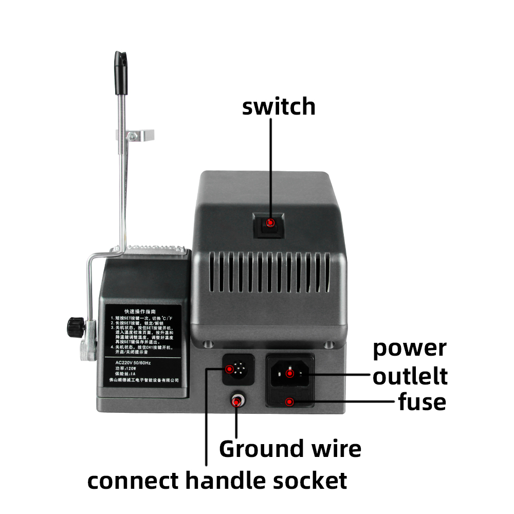 Component With Welding 1S For Soldering Heating Repair Station JBC SUGON Rapid T36 Integrated Nano Tip Soldering Circuit