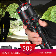 80000LM XHP50.2 LED Flashlight Xlamp Aluminum Hunting XHP50