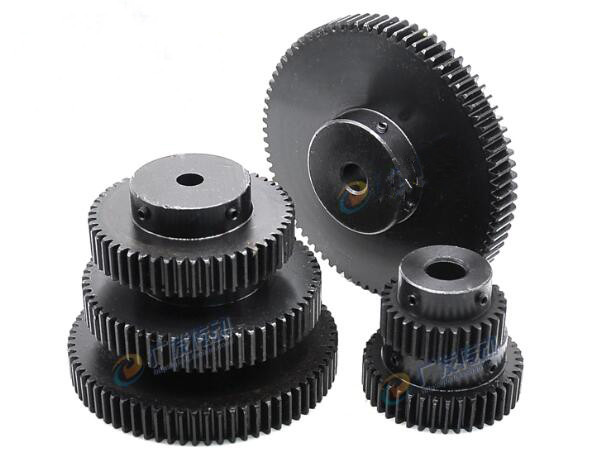 1.5Mod 80T Spur Gear #45 Steel Pinion Gear Tooth Diameter 123MM Thickness 15MM
