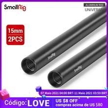Smallrig 15mm m12 hastes de alumínio (12 Polegada) para dslr camera acessório kit-1053