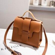 Повседневная женская сумка, Маленькая кожаная сумка через плечо, дизайнерские женские Сумки из искусственной кожи, сумки через плечо, сумки-мессенджеры Bolso Mujer