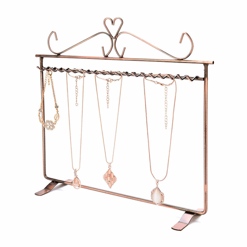 Retail Shop Earring Display Stand Holder Organizer Solid Copper Metal