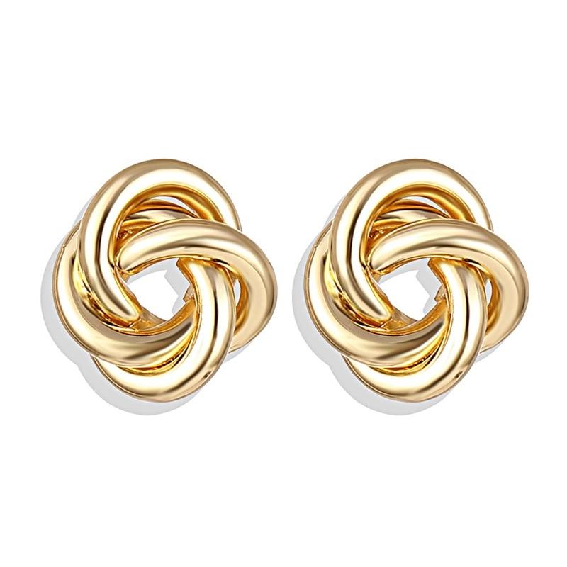 IPARAM, новинка, большие круглые серьги-кольца для женщин, модные, массивные, золотой, в стиле панк, очаровательные серьги, вечерние ювелирные изделия - Окраска металла: IPA0101-7