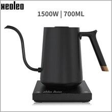 700ml Smart Kaffee wasserkocher Schnell Heizung Kaffee topf wasserkocher hand gebraut kaffee Variable Temperatur Digitale Schwanenhals