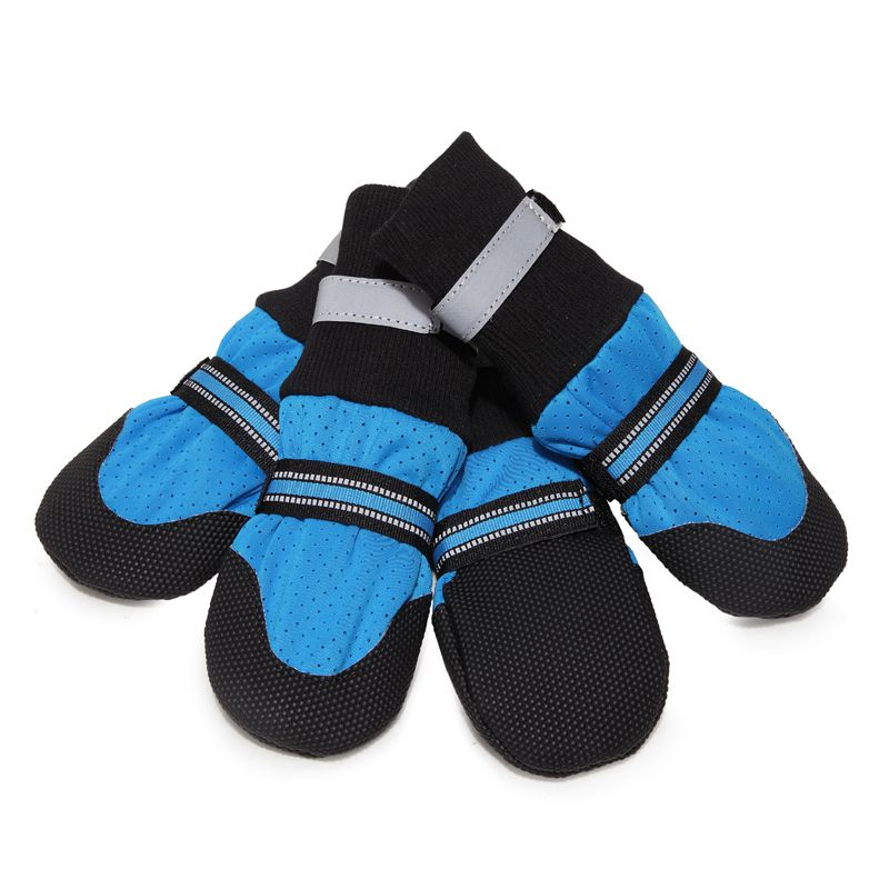 Breathable Pet Soft Bottom <font><b>Shoes</b></font> For Large Dogs Pets Walking <font><b>Shoes</b></font> For Dogs image