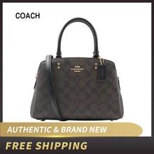 Authentic Original & Brand New Coach Signature Mini Lillie Carryall Bag 91494 Wo