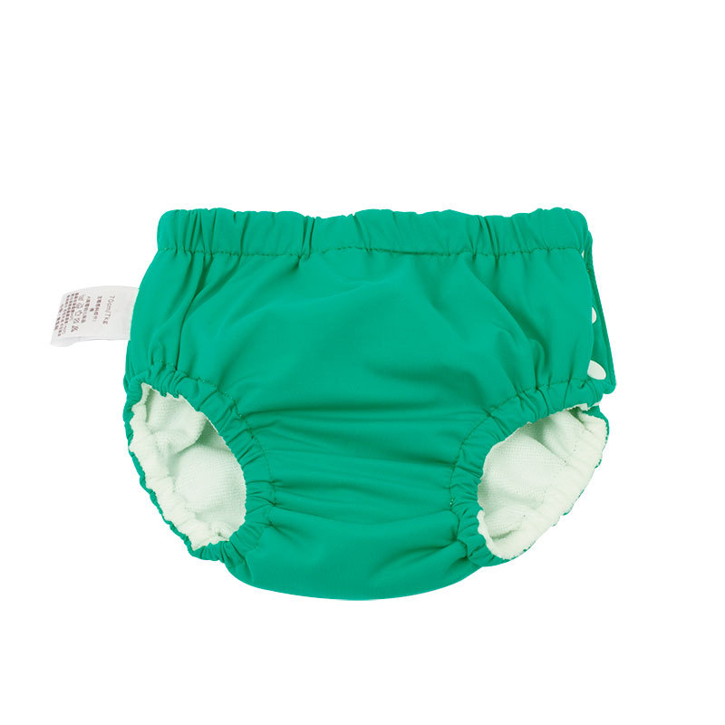 New Style Side Buckle-BABY'S Swimming Trunks Baby Washable Pocket Urine Learn Swimming Trunks Infant Swimming Pool Diaper Pants