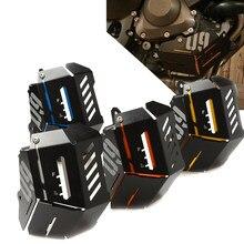 MT-09 para yamaha MT-09 FZ-09 mt fz 09 mt09 fz 09 2014 2015 2016 cnc radiador guarda tanque de recuperação refrigerante blindagem do motor capa