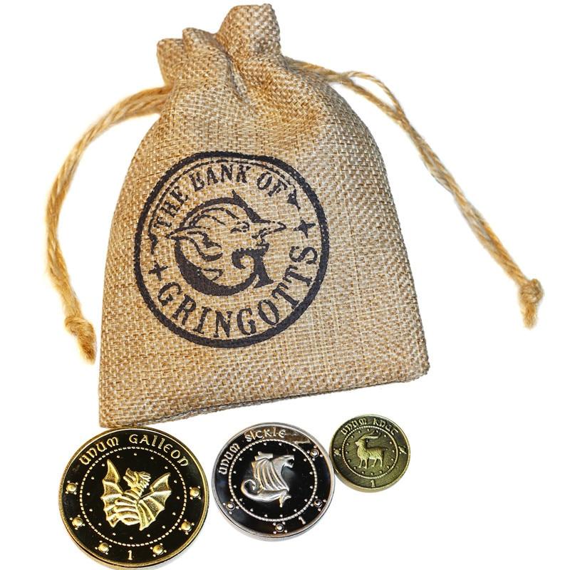 Монеты «Волшебный мир» 3 шт./компл., Гарри, Коллекционная монета, аксессуары для украшения дома, памятные монеты, старые металлические подаро...