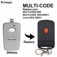 10pcs remote garage gate control for Multi Code 10 Dip Switch Transmitter Multi Code 3060 3089 308911 EZ CODE