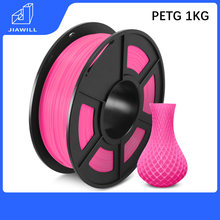PETG-filamento plástico para impresora 3D, materiales de impresión de 1kg y 1,75mm