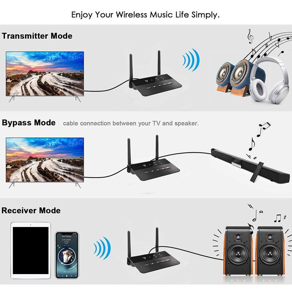 5.0 ultra baixa latência receptor de áudio