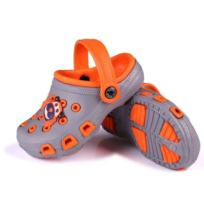 Breathable Kid Toddlers Boys Girl Hole Slip Summer Beach Sandal Slipper Shoes