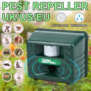 Ultrasonic Animal Repeller Wat
