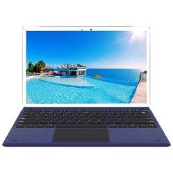 Tablette pc portable, 2 en 1, de 11.6 pouces, ordinateur portable, MTK6797 (X27) deca-core, Android 8.0, 128 go de ROM, Camera, 13.0mp, 4G LTE, avec clavier