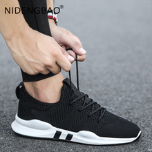 Male Shoes Mesh Breathable Men Sneakers Lightweight Running Comfortable Non-Slip Soft Athletic Walking Sport