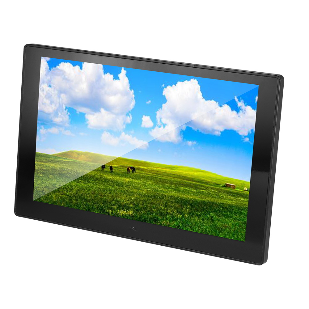 glass New 10 inch Screen IPS Backlight HD 1280*800 Digital Photo Frame Electronic Album Picture Music Movie Full Function Good image